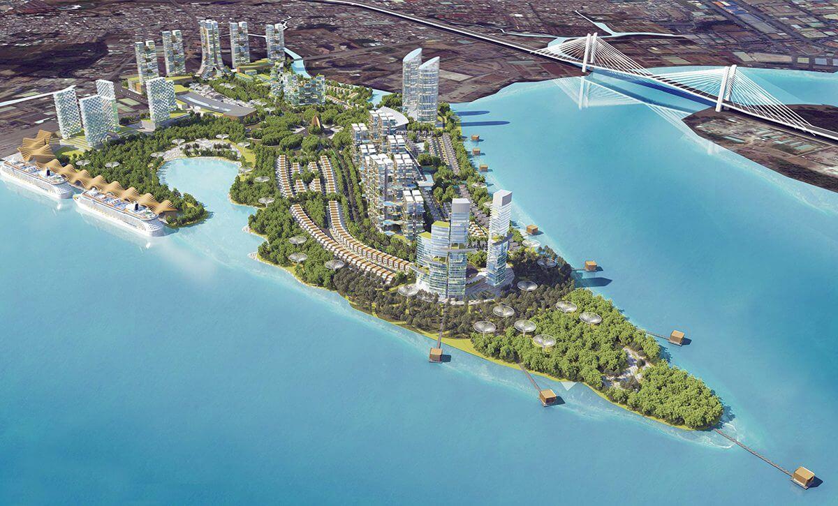 Dự án Saigon Peniunsula Vạn Thịnh Phát Quận 7