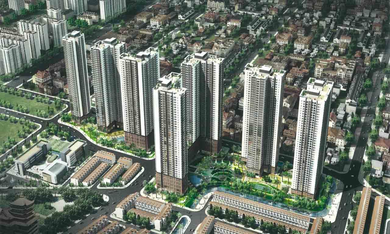 Cụm CT3 và CT4 dự án Laimian City Quận 2