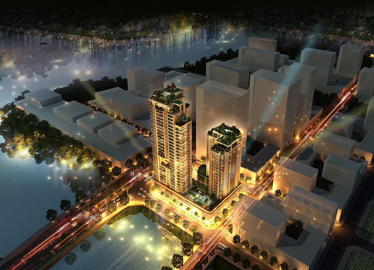 Dự án căn hộ Riverfront Residences Thủ Thiêm Quận 2