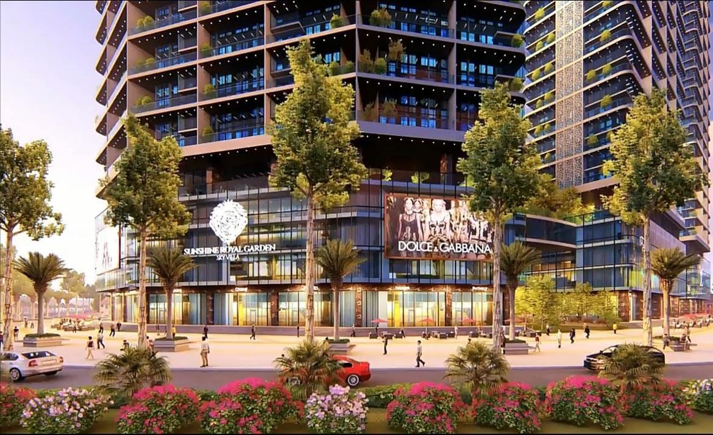 Dự án căn hộ Sunshine Royal Garden Sky Villas Quận 7