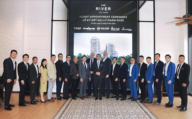 Thủ Thiêm River Park bổ nhiệm đại lý phân phối dự án The River - Thu Thiem